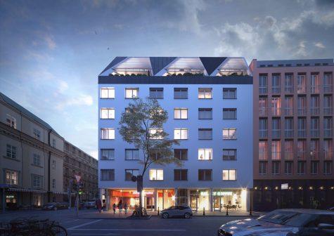 Möblierte City-Apartments, 80336 München-Zentrum, Etagenwohnung