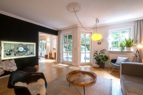 Schicke Gartenwohnung in ruhigem Innenhof, 80807 München-Milbertshofen, Erdgeschosswohnung