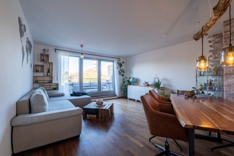 *Verkauft* Penthouse mit zwei Dachterrassen, 81549 München-Ramersdorf, Penthousewohnung