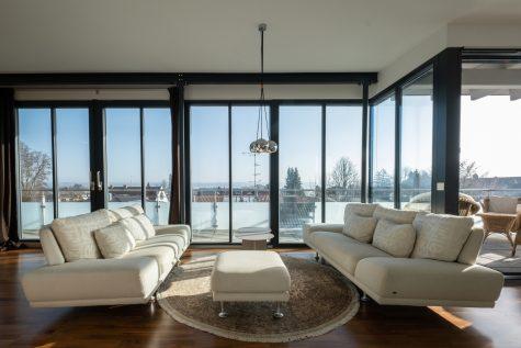 *RESERVIERT* Modernes Penthouse mit Seeblick und Dachterrasse, 82327 Tutzing, Penthousewohnung