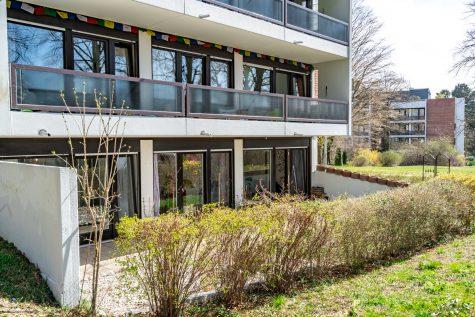 Sonnige Gartenwohnung in ruhiger Parkanlage nähe Klinikum, 82319 Starnberg, Erdgeschosswohnung