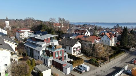 *VERKAUFT* Modernes Penthouse mit Seeblick und Dachterrasse, 82327 Tutzing, Penthousewohnung