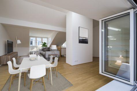 *VERKAUFT* Dachterrassen-Wohnung Nähe Elisabethplatz!, 80799 München-Maxvorstadt, Dachgeschosswohnung