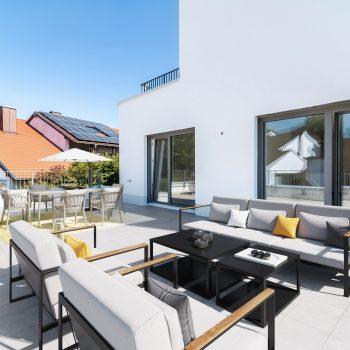 Dachterrasse Möblierungsidee